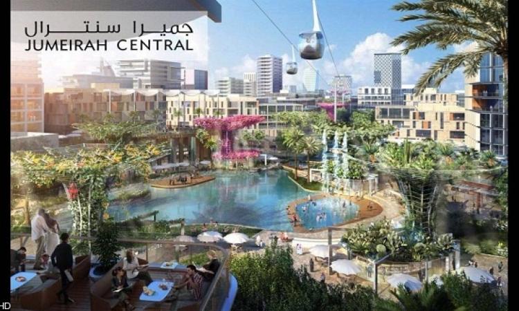 إنشاء مدينة المستقبل المصغرة داخل دبى !!
