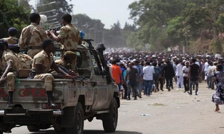 إثيوبيا تعلن حالة الطوارئ فى أعقاب الاحتجاجات