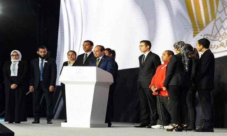 رئاسة الجمهورية تبدأ غداً تشكيل لجان متابعة قرارات السيسى بمؤتمر الشباب