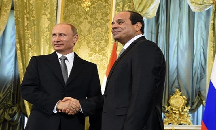 تعزيز العلاقات الاقتصادية والسياحة فى مقدمة جدول أعمال زيارة الرئيس السيسي لروسيا