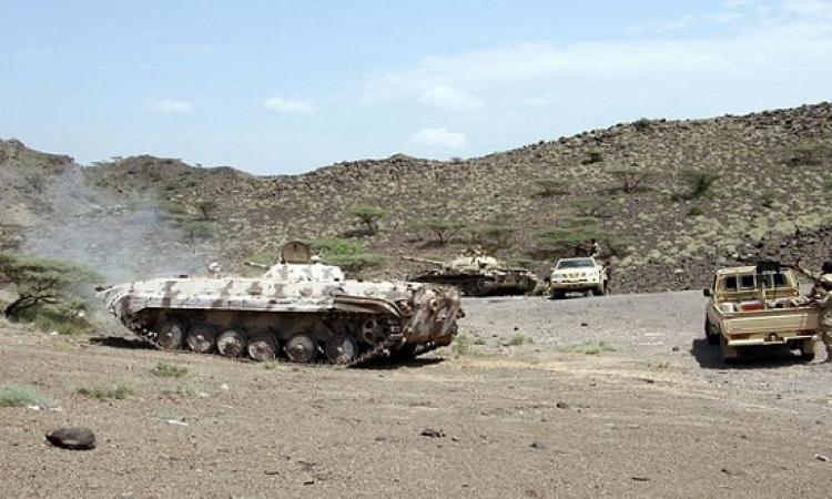 """القوات اليمنية تكمل تحرير """" الغيل """" من الحوثيين"""