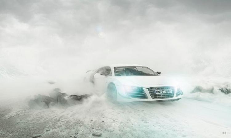بالصور .. الحقيقة المذهلة وراء خدعة اعلان سيارة Audi !!
