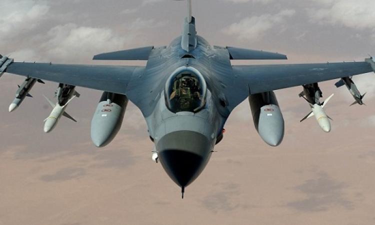 مقتل 100 ارهابى بغارات إف 16 على مواقع المسلحين بسيناء