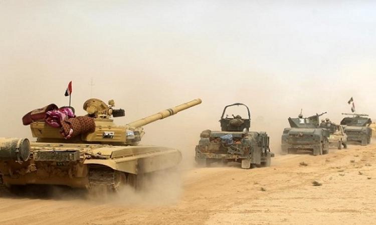 معركة الموصل تدخل يومها الثالث .. وداعش يعترف بخسارة 8 قرى
