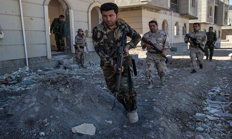 البشمركة تسيطر على قرى شرقى الموصل