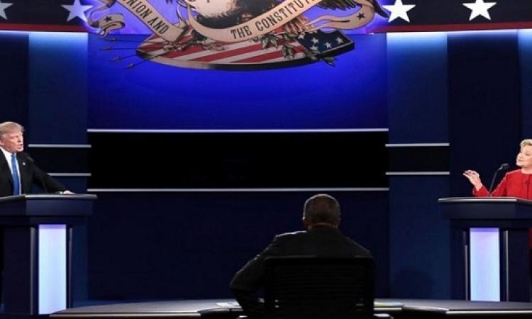 كلينتون وترامب يجريان الليلة مناظرتهما الأخيرة فى لاس فيجاس