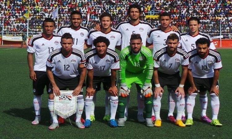 مصر تتربع على قمة المجموعة الخامسة بتصفيات المونديال