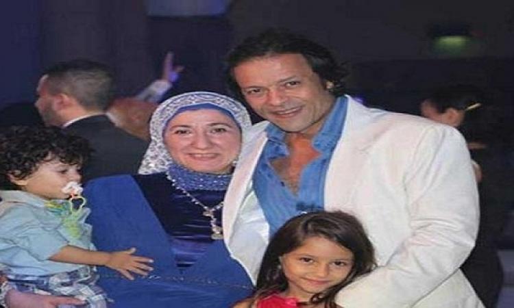 ما لا تعرفه عن زوجة الفنان الهارب «هشام عبد الله»