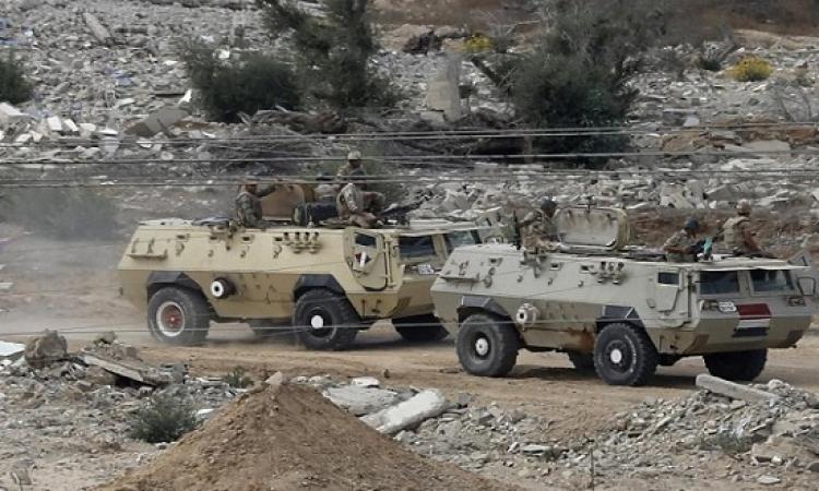 بالفيديو .. احباط محاولة إرهابية كبيرة بسيارة مفخخة ضد القوات المسلحة بشمال سيناء