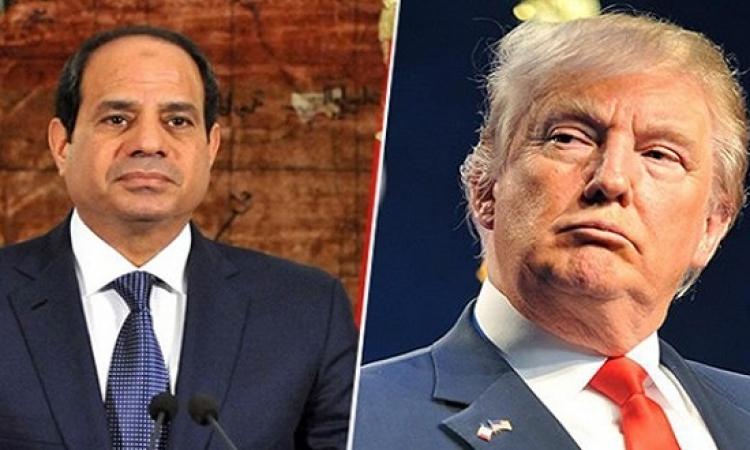بيان تهنئة من الرئيس السيسى لدونالد ترامب بفوزه برئاسة أمريكا