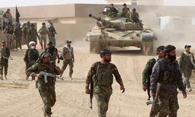 استسلام العشرات من مسلحى داعش فى الموصل
