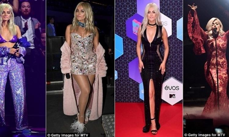 بالصور .. بيب ريكسا تبهر حفل MTV EMA بـ 8 اطلالات مثيرة !!