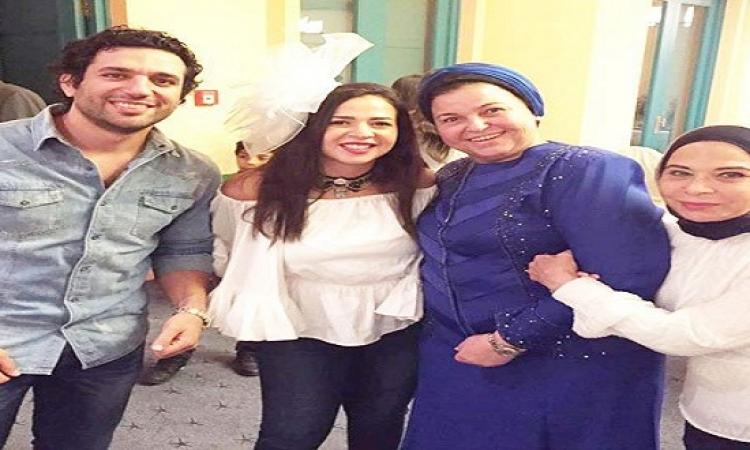بالصور .. نجوم الفن فى حفل حنة الرداد وإيمى بالغردقة