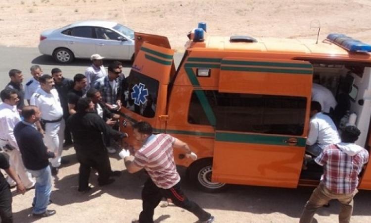 مقتل شخص وإصابة 10 فى حريق صومعة شبرا الخيمة