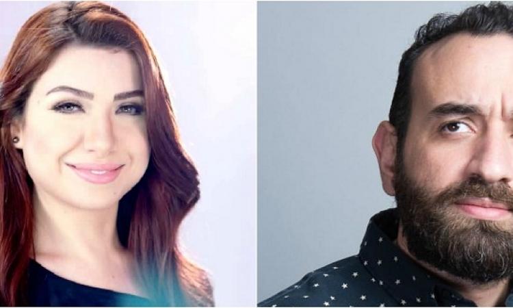 بالصور .. خطبة مذيعة «مصارحة حرة» والمخرج عمرو سلامة
