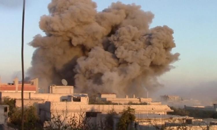 قصف كيميائى على مطار حلب الدولى