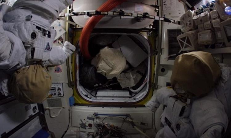 بالفيديو.. تعرف على الحياة داخل محطة الفضاء الدولية!!