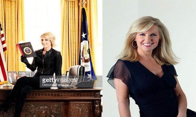 بالصور .. جميلتان تتنافسان للحديث باسم ترامب .. متوقع !!