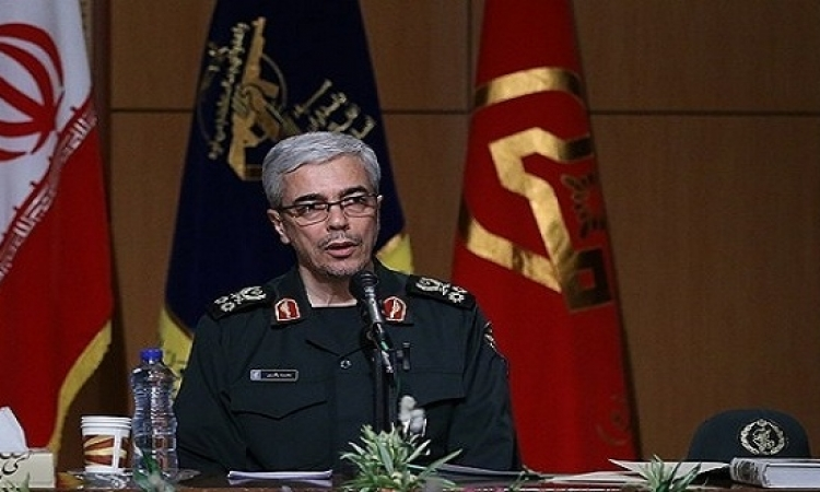 رئيس الاركان الايرانى يلمح لإقامة قواعد عسكرية فى سوريا واليمن