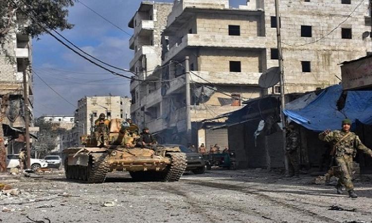 الجيش السورى يسيطر على مثلث آرك فى ريف حمص الشرقى