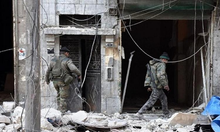 الجيش السورى يعلن سيطرته على 98 % من حلب
