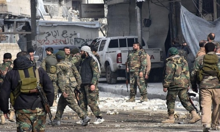 انفجار ضخم يهز العاصمة السورية