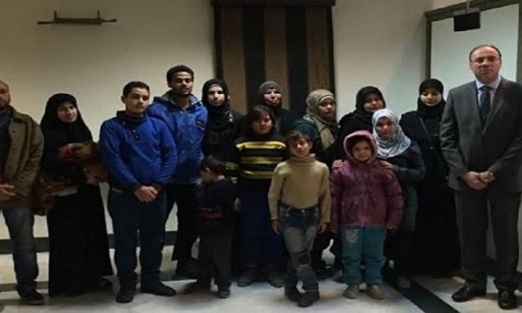 سفارة مصر بسوريا تنجح فى إخراج عائلة مصرية من منطقة الاشتباكات بحلب
