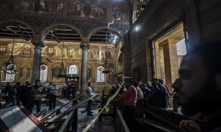 سفر مصابّى الكنيسة البطرسية للعلاج فى الخارج على نفقة الدولة