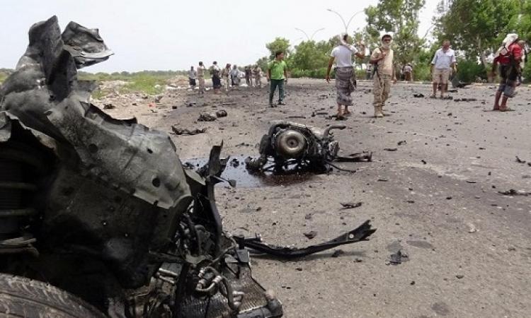 ارتفاع حصيلة ضحايا هجوم عدن الانتحارى إلى 50 قتيلاً