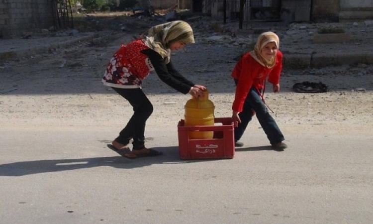 لليوم الثالث على التوالى.. معاناه دمشق من المياه المقطوعة