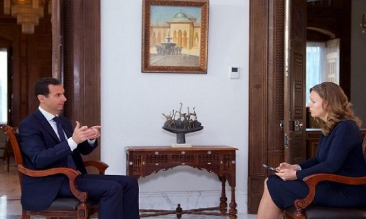الأسد : هجوم داعش على تدمر جاء رداً على تقدم الجيش السورى فى حلب