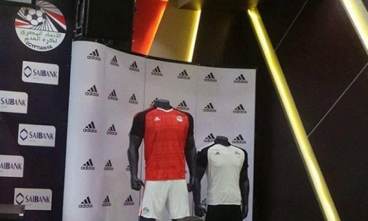 بالصور .. الكشف عن القميص الجديد لمنتخب مصر فى كأس الأمم الافريقية