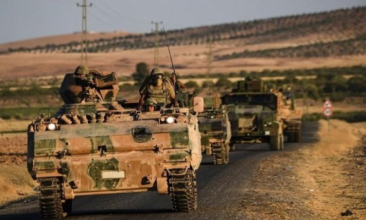 قوات تركية تصد محاولة تقدم داعش باتجاه مدينة الباب بريف حلب