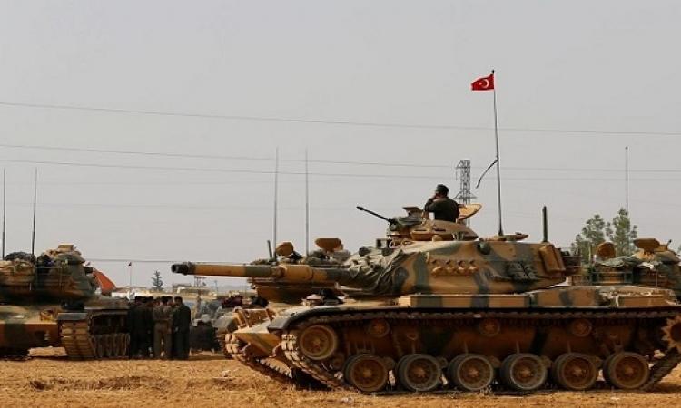 الجيش التركى يسيطر على الطريق الرابط بين حلب والباب فى سوريا