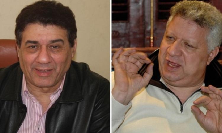 بالفيديو .. لحظة صلح مرتضى منصور ومدحت شلبى على الهواء