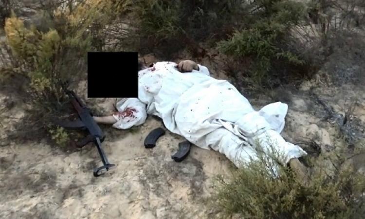 بالصور .. مقتل 8 عناصر تكفيرية فى مداهمة لجيوب ارهابية بشمال سيناء