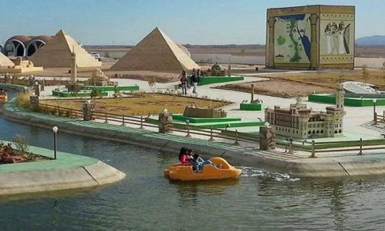 بالصور .. مينى إيجيبت بارك .. متحف مفتوح يحتضن معالم مصر التاريخية