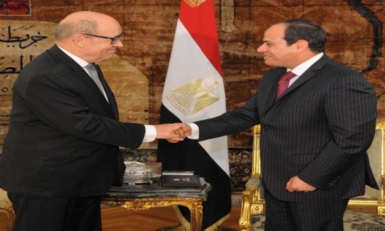 السيسى: شراكة استراتيجية بين مصر وفرنسا على كل الأصعدة