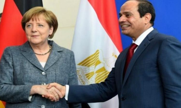 """أنجيلا ميركل تلتقى السيسى الأسبوع المقبل على هامش القمة """"الألمانية الأفريقية"""""""