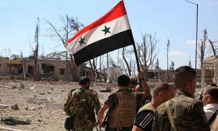"""القوات السورية تسيطر على بلدة تادف .. بوابة """" الباب """" الجنوبية"""