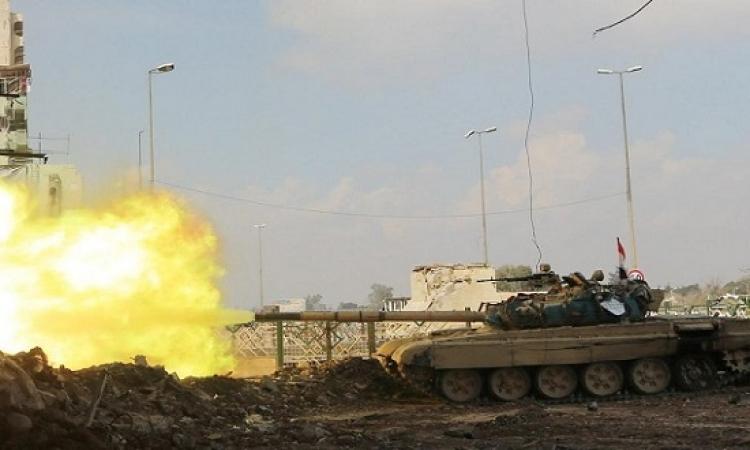 القوات العراقية تسيطر على جسر الحديدى شمال الموصل