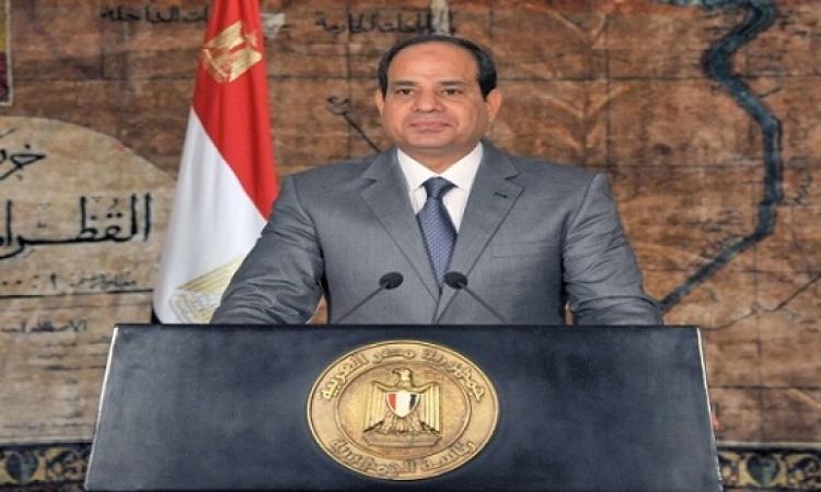 بالفيديو .. السيسى يشكر المصريين على اعادة انتخابه