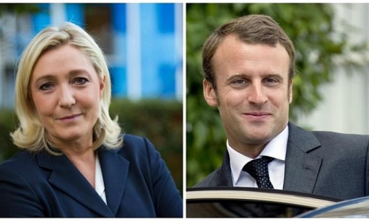 استطلاعات الرأى الفرنسية : لوبان فى الصدارة وماكرون ينافس بقوة