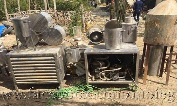 الداخلية : ضبط 13 من العناصر الإرهابية ومواد متفجرة داخل مزرعتين بالبحيرة
