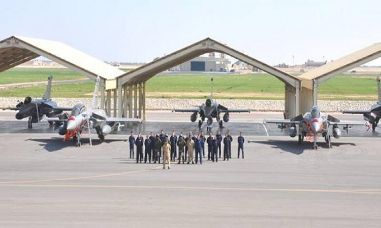 بالصور .. وصول الدفعة الثالثة من طائرات الرافال إلى مصر