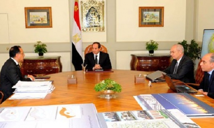 السيسى يوافق على المخطط العام المقترح لمدينة العلمين