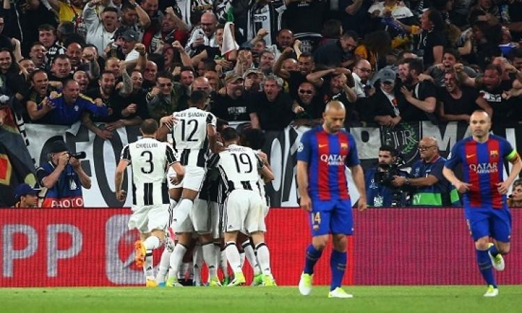"""برشلونة يحلم بـ""""ريمونتادا"""" جديدة أمام يوفنتوس فى دورى أبطال أوروبا"""