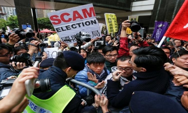 تظاهرات للجالية الصينية تعم باريس