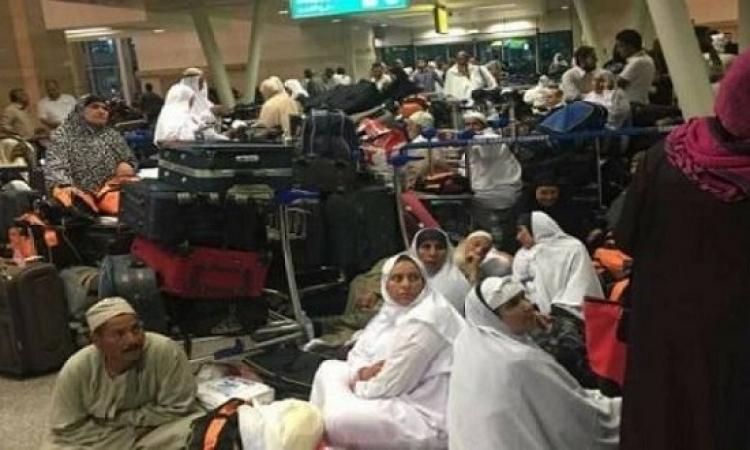 انتهاء أزمة تكدس المعتمرين بمطار القاهرة
