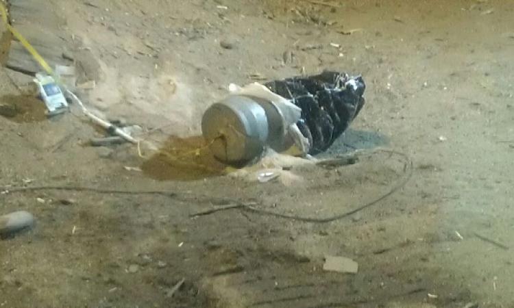العثور على جسم غريب أمام مكتب مساعد وزير الداخلية